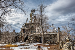 Thunder Mountain Nevada State Monument (paccode) Tags: solemn d850 landscape winter bushes brush serious nevada quiet snow abandoned nationalmonument urban wreck scary colorful forgotten desert creepy imlay unitedstates us