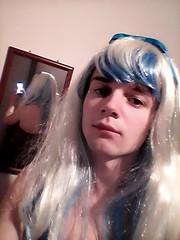 trying to be cute ^^ (Night Girl (my feminine side) :)) Tags: crossdress cd crossdressing cute cross dress dresser girly boy femboy feminine fun me girl
