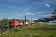 🇨🇭 Train 50456 @ Algetshausen (Wesley van Drongelen) Tags: sbb cff ffs schweizerische bundesbahnen chemins de fer fédéraux federaux suisses ferrovie federali svizzere swiss federal railways cargo güterzug marchandises re 420 re420 44 ii porrentruy pruntrut algetshausen trein train zug