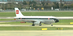 New (Old) BA colour scheme (M McBey) Tags: airbus a319 britishairways retro liviery aircraft airliner colourscheme