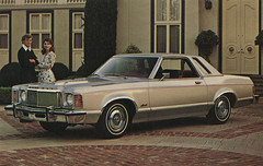 1975 Ford Monarch Ghia Promotional Postcard from Barile Ford - Valparaiso, Indiana (Shook Photos) Tags: postcard postcards chrome chromepostcard chromepostcards chromelithograph car cars auto automobile automobiles barileford ford valparaisoindiana valparaiso indiana portercounty cardealer cardealership dealership