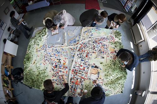 「失われた街」模型復元プロジェクトの写真