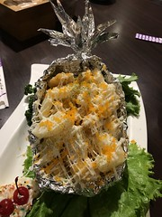 pineapple shrimp (光輝蘇) Tags: night food kk
