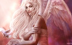 Lovely Viridis (A. Doutzen) Tags: photograpy photoshop photo portrait art angel second secondlife