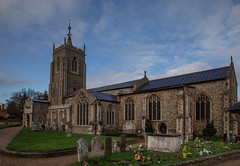 aylsham church (colin 1957) Tags: aylsham church spire norfolk