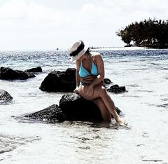 Love sittin'on a rock (Xabi Argazkigintza) Tags: love beautifulhotel water blue mauritius ilemaurice océanindien indianocean sea secretspot island holidays beachcomber beacheslandscapes beach plage hotelshandrani shandranimauritius canon canonef2470mmf28 5dmarkiii
