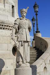 Fisherman's Bastion, Budapest (Wild Chroma) Tags: budapest hungary statue fisherman's bastion fisherman'sbastion