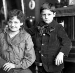 Greta Lobo-Braakensiek (theirhistory) Tags: boy child kid mother film uniform bow scout actress jacket badges