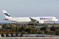 OH-LWB / Finnair / Airbus A350-941 (Charles Cunliffe) Tags: canon7dmkii aviation londonheathrowairport egll lhr finnair fin ay airbusa350 a350900 ohlwb