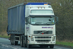 Volvo FH Ward Bros YJ58 DFF (SR Photos Torksey) Tags: truck transport haulage hgv lorry lgv logistics road commercial vehicle freight traffic volvo fh ward bros