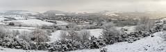 Snowy panorama (Maria-H) Tags: glossop snow winter hills pennines peakdistrict highpeak derbyshire uk olympus omdem1markii panasonic 1235