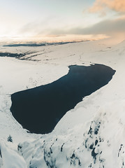 IMG_9558-Pano.jpg (JHJOwen) Tags: llynyfanfach mountain brecon snow