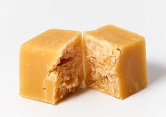 Broken candy (Antti Tassberg) Tags: food sweet fudge macro picktwo candy extensiontube macromondays damaged 100mm lens prime