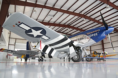 NL351DT (413806 LL) North American P-51D Mustang United States Air Force 'Crazy Horse 2' from floor Kissimmee Municipal 25th October 2018 (michael_hibbins) Tags: nl351dt 413806 ll north american p51d mustang united states air force crazy horse 2 shadows kissimmee municipal 25th october 2018 aeroplane aerospace aviation aircraft airplane aero airfields airport airports civil general historic history retro exmilitary ww2 wwii n america usa us
