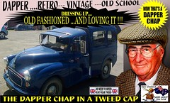 Dapper Chap In A Tweed Cap 2019  Part  3 (Save The Last Ocean) Tags: vintagecarclub vintagecar oldschool retro man fashion poster sign outdoor distinguished gentlemans cap tweed wearing car nz kiwi older oldman granpa classic auto vehicles cavalrytwilltrousers rally show club menswear scottish houndstooth uk british woven yorkshire 2019 nokia headlight art blazer plaid auckland hamilton rotorua tauranga gisbourne napier hastings wellington nelson christchurch dunedin invercargill city tweedcap tweedjacket citycouncil newplymouth whanganui wanganui rockandhop parked road street tweedjacketphotos morrisminorvan 1971 van truck sedan saloon manwearingtweedjacket menstweedjacket ride run dapper