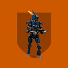 Mech Monday #9: CHAPPiE (roΙΙi) Tags: mechmonday mech robot chappie neillbloomkamp lego moc afol