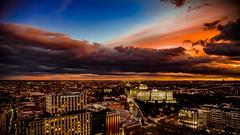 Madrid bajo presión (pepoexpress - A few million thanks!) Tags: nikon nikkor d750 nikond75024120f4 nikond750 24120mmafs pepoexpressflickr madrid cielosdemadrid storm city citynight cityscape clouds skylinearchitecture sky skyline sunset sunrise puestadesol goldenhour