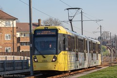 Manchester Metrolink 3088 (Mike McNiven) Tags: manchester metrolink tram metro lightrail lrv manchesterairport airport victoria marketstreet martinscroft baguley wythenshawe