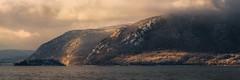 STORM LIGHT (pidalaphoto) Tags: morning hudsonhighlands newburghwaterfront river winterlight snow newburghny morninglight mountains hudsonriver clouds clearingstorm hudsonvalley