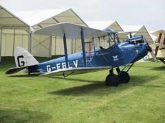 De Havilland DH-60 Cirrus Moth G-EBLV in the static display at RAF Cosford Airshow 10.06.18 (Trevor Bruford) Tags: dh60 cirrus moth geblv raf cosford airshow shropshire west midlands 100 years aircraft airplane planes aviation wwi biplane de havilland