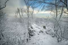 Frozen hill (MarioCibulka) Tags: high vista peaceful space panoramic outdoor natural frost weather sunny snowy scenery scenic sunlight beautiful travel winter snow nature white cold beauty bright scene morning hill sun landscape mountain environment