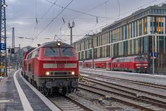 218 401-8 218 403-4 DB Regio München Hbf 31.01.19 (Paul David Smith (Widnes Road)) Tags: 2184018 2184034 db regio münchen hbf 310119 br218 218