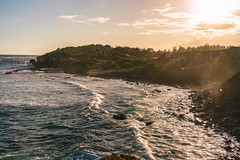 Kauai Coast Sunset (Graham Gibson) Tags: mahaulepu heritage trail kauai hawaii poipu sony a7rii voigtlander 40mm f12 nokton 4012 cv40 beach coast