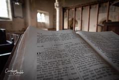 Morning prayer (Caroline Grubb Photography) Tags: inglesham st john baptist pray prayer worship religion church 1000 cotswolds winter bible morning