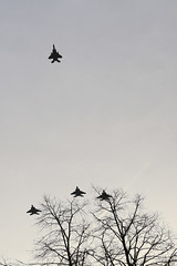 Mi Amigo 75th Anniversary Flypast (zeity121) Tags: flypast miamigo endcliffepark sheffield planes aeroplanes raf americanairforce 75years f15 eagle f15eagle missingman