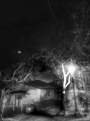 light (Massimo Vitellino) Tags: lights shadows night city perspective hdr blackandwhite abstract contrast conceptual outdoors