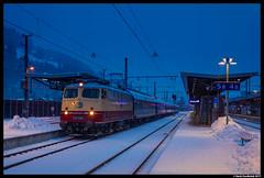 AKE E10 1309, Bischofshofen 30-12-2017 (Henk Zwoferink) Tags: alpenexpress ae railexperts bahntouristikexpress bte henkzwoferink e101309 ake smartrail bischofshofensalzburgaustriaat