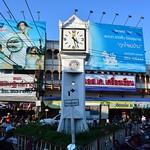 Old clock tower at Chiang Rai market (Northern Thailand 2018) thumbnail