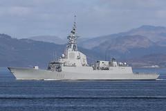 ESPS Almirante Juan de Borbón (F102) (Mark McEwan) Tags: almirantejuandeborbón f102 spanishnavy clyde warship military jointwarrior jw191 frigate airdefencefrigate ship