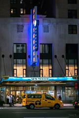 T for Travel (Jocey K) Tags: sonydscrx100m6 triptocanadaandnewyork architecture street people newyorkerhotel hotel cab car illuminations signs