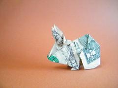 Buck The Bunny - Perry Bailey (Rui.Roda) Tags: origami papiroflexia papierfalten lapin conejo coelho rabbit buck the bunny perry bailey