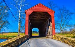 2019-04-06 Loys Station Covered Bridge-8851 (By The Bay Photos) Tags: frederickcounty maryland mdloysstation loysstationcoveredbridge coveredbridge covered bridge