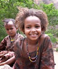 Oromo Children (Rod Waddington) Tags: africa african afrique afrika äthiopien ethiopia ethiopian ethnic ethnicity etiopia ethiopie etiopian oromo tribe traditional tribal culture cultural child children outdoor sofomer beads portrait people