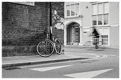 Ghost Bike (Adam Lee Guitarist) Tags: london street photography noir black white monochrome flickr explore award londoner cycling cyclist bike bicycle biker road grit grain leica m6 leitz summicron dr 50mm f2 ilford hp5 semistand developed rodinal 1100 plustek opticfilm 8100 handheld selfdeveloped home uk england britain east