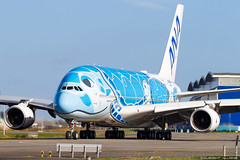 All Nippon Airways ANA Airbus A380-841 cn 262 F-WWSH // JA381A (Clément Alloing - CAphotography) Tags: all nippon airways ana airbus a380841 cn 262 fwwsh ja381a toulouse airport aeroport airplane aircraft flight test canon 100400 spotting tls lfbo aeropuerto blagnac aeroplane engine sky ground take off landing 1d mark iv avgeek avgeeks planespotter spotter