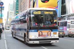 IMG_3941 (GojiMet86) Tags: mta nyc new york city bus buses 2015 x345 2583 sim30 42nd street 7th avenue