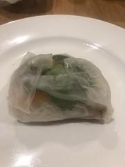 2019 (Day 88 - 29th Mar): Vietnamese veggie rice wraps for dinner (tawalker) Tags: project365 vegetarian veggie vegan tofu wrap vietnamese noodles
