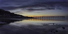Saltburn-by-the-sea dusk (EricMakPhotography) Tags: blue dusk reflection beach beauty pier yorkshire
