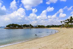 Siloso Beach (Synghan) Tags: silosobeach siloso coast coastline sideview sea point sentosa island landscape seascape photography horizontal outdoor colourimage fragility freshness nopeople foregroundfocus adjustment interesting awe wonder fulllength depthoffield vivid sharpness beautiful industrial tranquility peace wave boat holiday vacation travel destination attraction landmark local canon eos80d 80d sigma 1750mm f28 센토사섬 센토사 머라이언 바다 풍경 비치 해안가