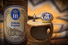 Hofbrau Munchen Original, Beer. 1 (Mega-Magpie) Tags: canon eos 60d beer drink hb hofbrau munchen original est1589 beergut guy indoorwinterblues munich craft