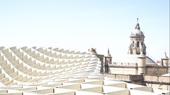 Metropol Sevilla (joannab_photos) Tags: sculpture spain architecture setas sevilla metropol