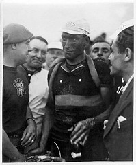 1938 TDF Black Eagle (Sallanches 1964) Tags: belgiancyclists tourdefrance 1938 worldchampionroadcycling mountainstage