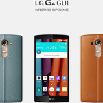 LG G4 GUIの写真