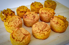 2019.02.08 Low Carbohydrate, Healthy Fat Pumpkin Muffins with Cream Cheese Filling, Washington, DC USA 09736