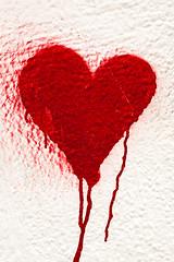 Heart (justingreen19) Tags: love ny nyc newyork newyorkgraffiti newyorkcity valentine brokenheart graffiti heart heartshape justingreen19 manhattan minimal paint red spraycan streetart urban urbanart valentinesday wall
