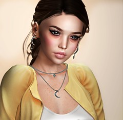 Imagine if.. (Chelsea Chaplynski ( Amity77 inworld)) Tags: theskinnery skinnery face genus makeup doux aviglam eyes neve hair enchantment access event dahlia earrings necklace gamma chelsea secondlife sl